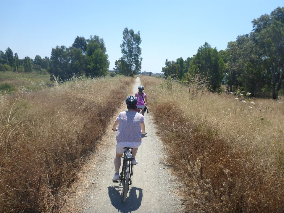 Bike Ride through Malaga Nature Park