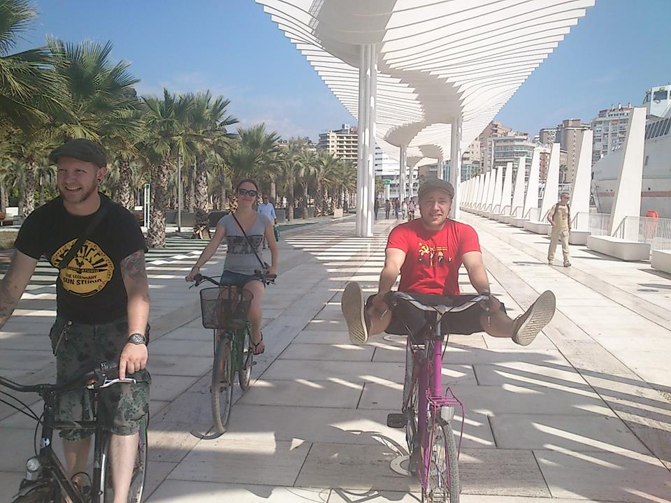 City Bike Tour Malaga Muelle Uno