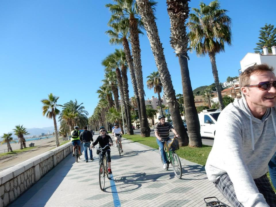 City Bike Tour Malaga Promenade