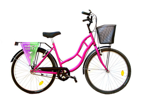 City Bike for Rent Malaga 26 inch
