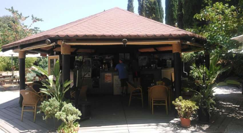 Cafe Jardin Botnico de la Conception, Malaga