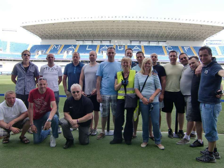 Malaga Football ground