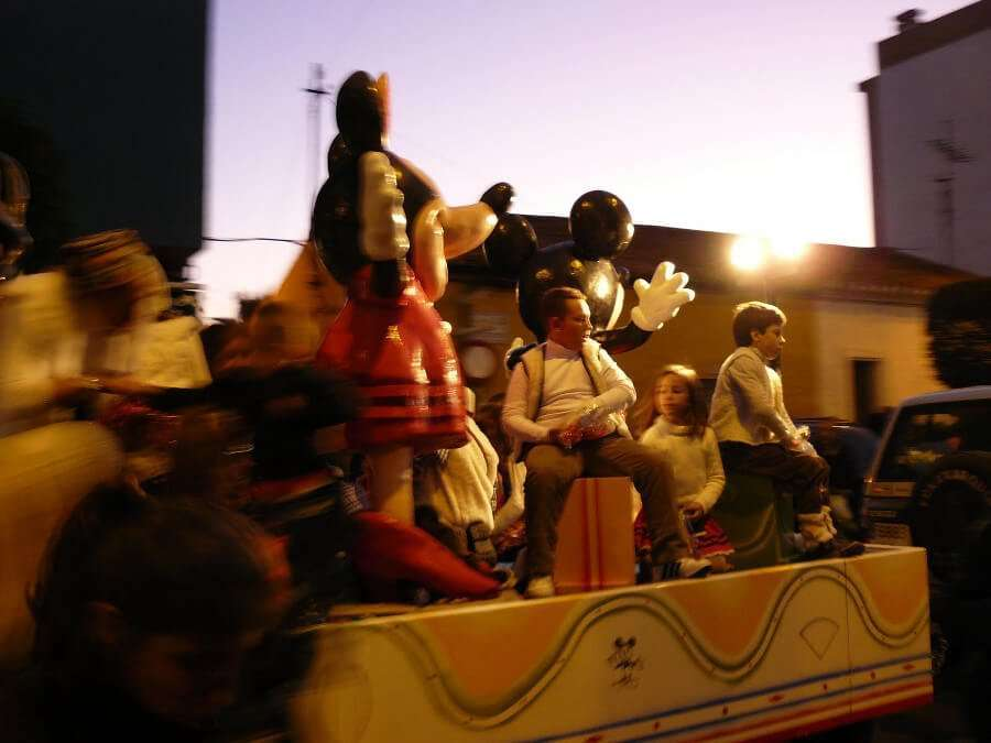 Three Kings Parade Malaga