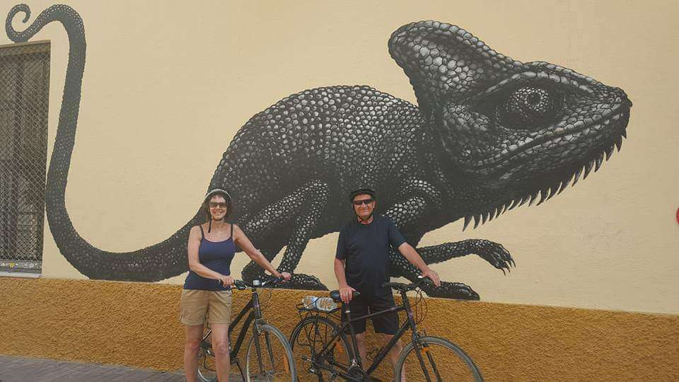 Malaga Cycle Route west to Torremolinos