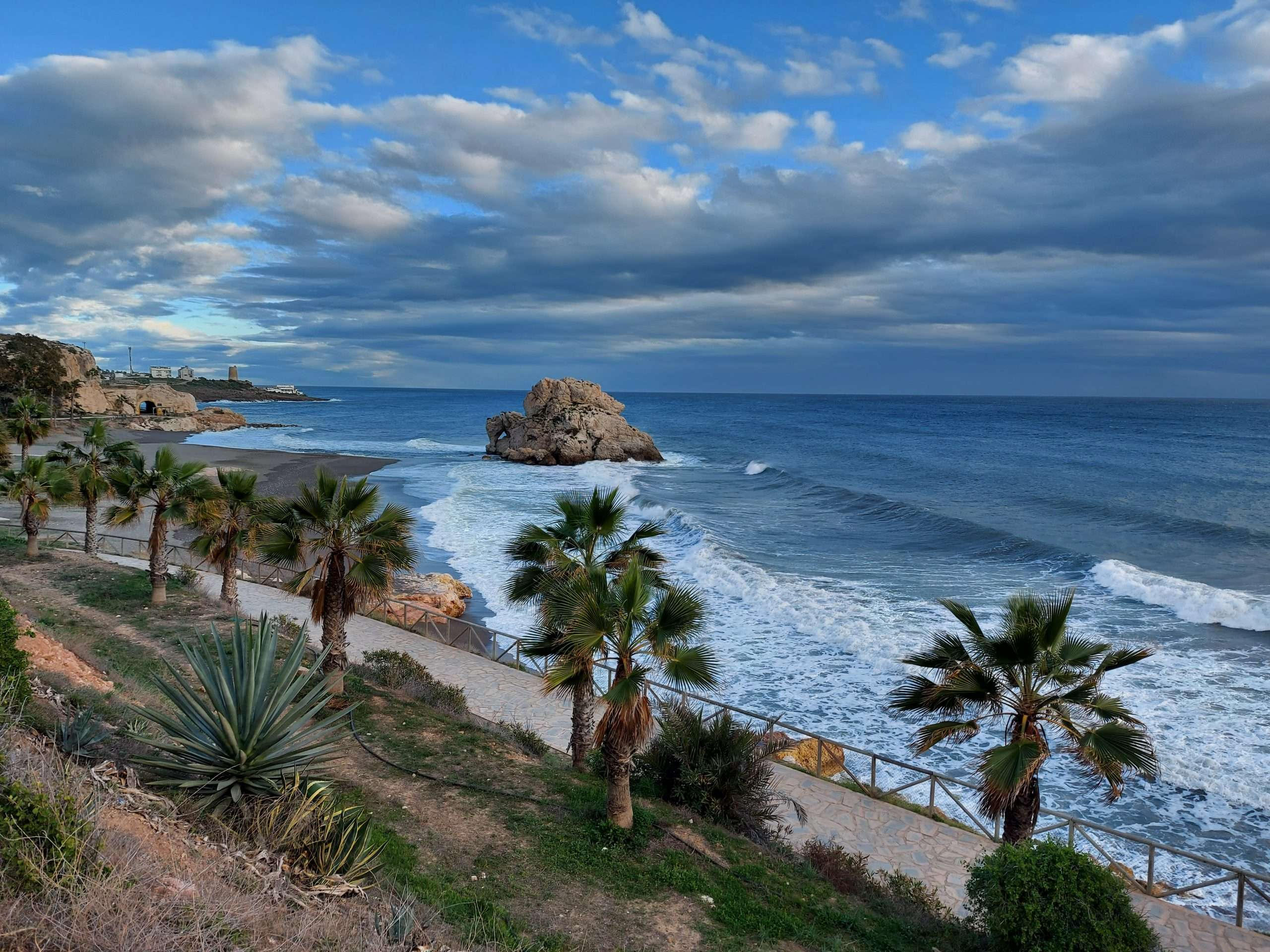 Cycling in Malaga to Peñon del Cuervo a.k.a The Cement Factory Beach is a must!