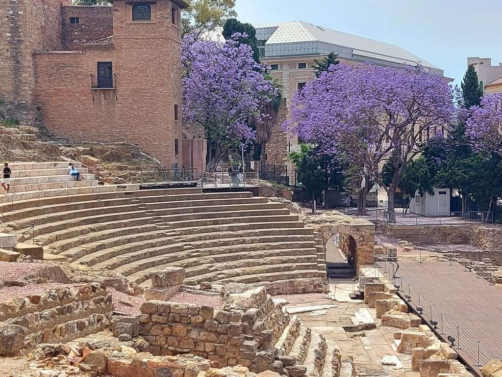 Things to do in Malaga: visit the Roman Theatre