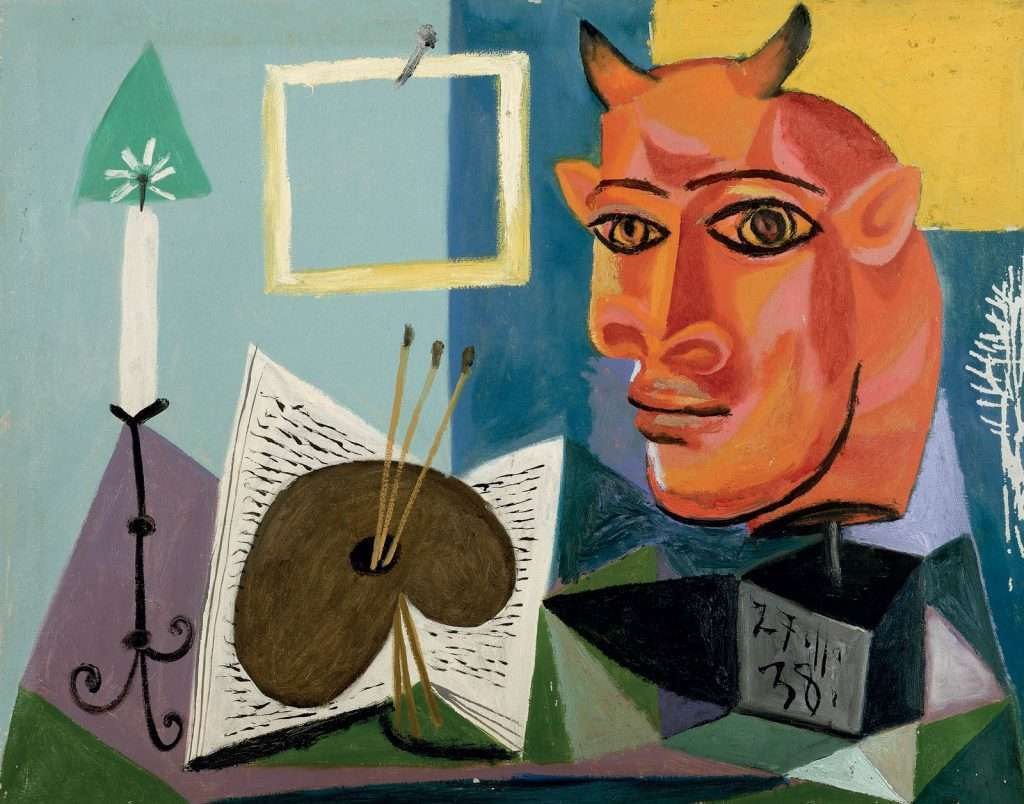 Pablo Picasso paintings at the Museo Picasso Malaga