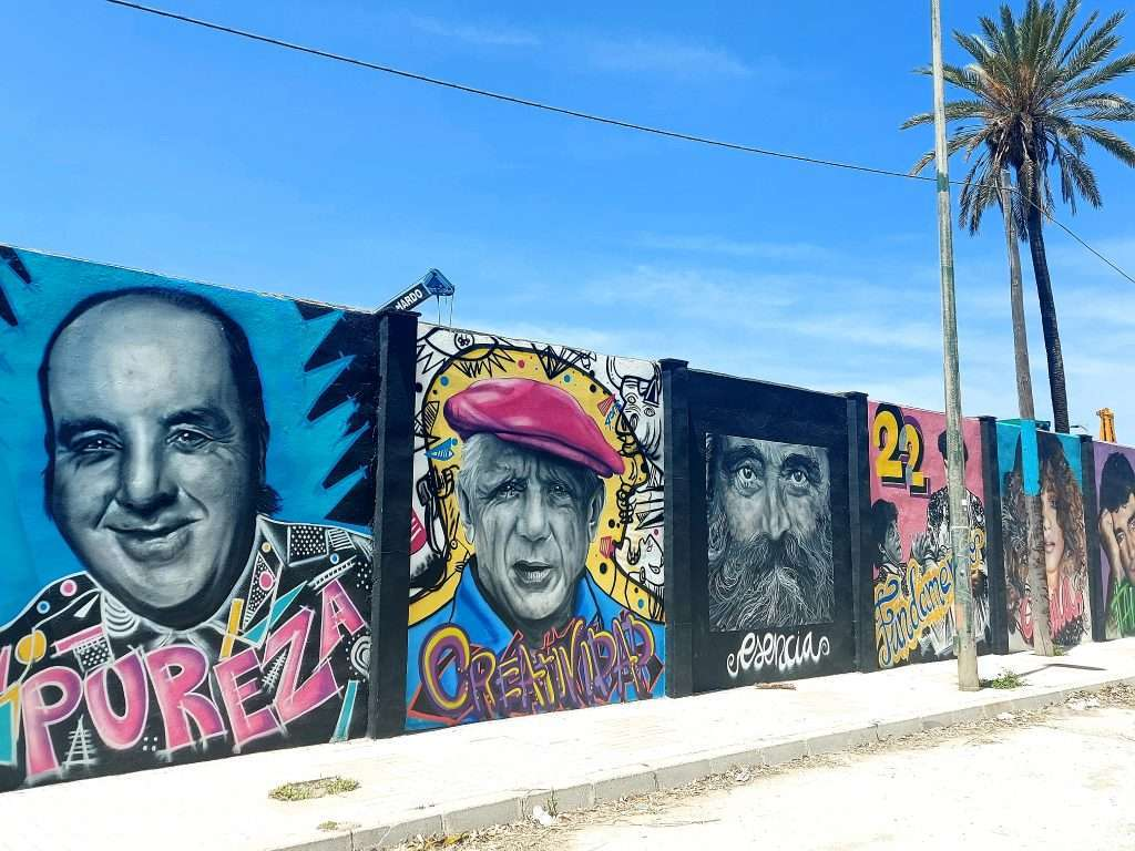 Things to do in Malaga- look for the best street art!